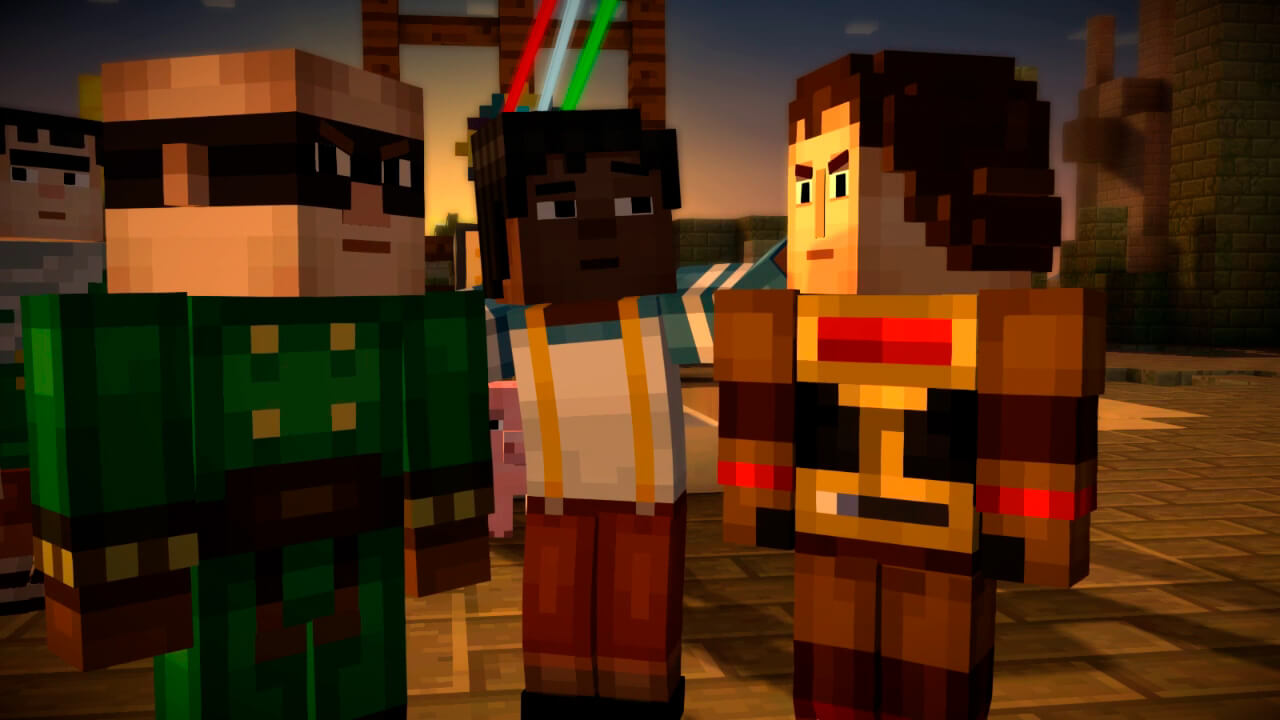 Minecraft Story Mode Episode 2 Скриншот 1
