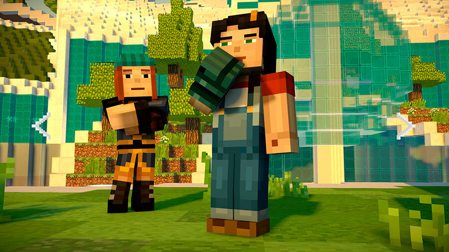 Minecraft Story Mode Season 2 Episode 1 Скриншот 2