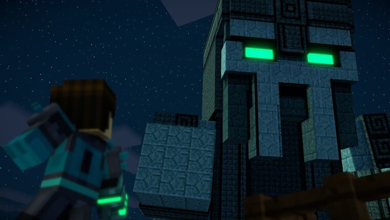 Minecraft Story Mode Season 2 Episode 2 Скриншот 2