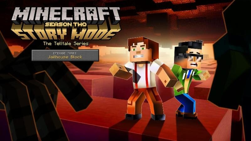 Minecraft Story Mode Season 2 Episode 3 Постер