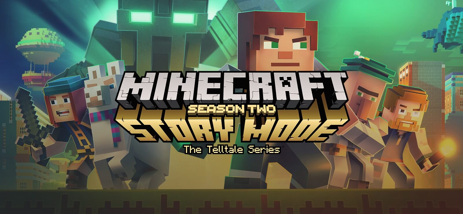 Лого Minecraft Story Mode Season 2