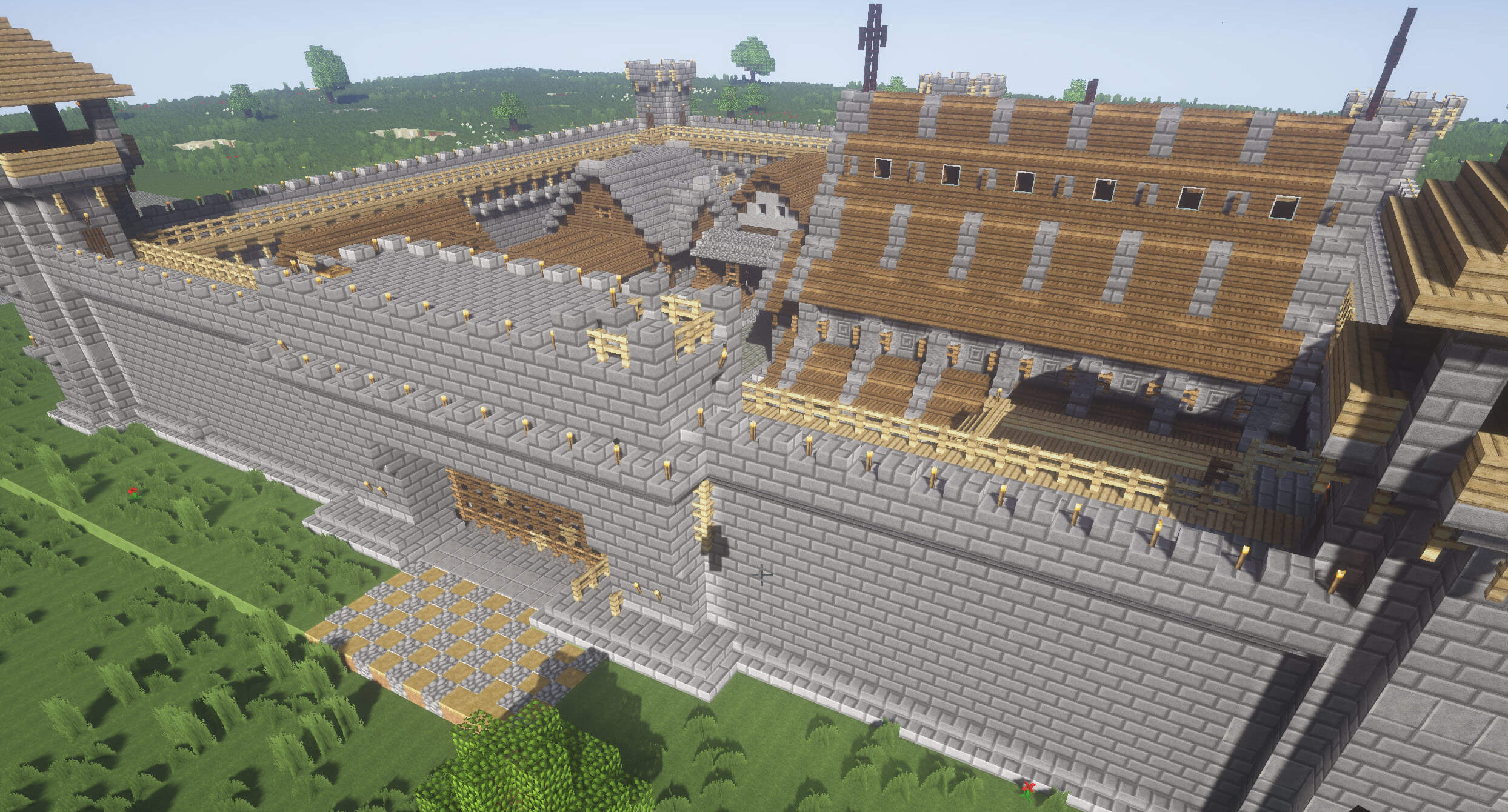 Medieval Fortress Mojang Builds скриншот 3