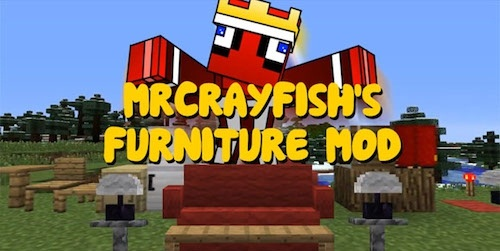 MrCrayfish's Furniture 1.14.3 скриншот 1