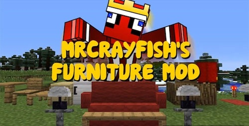 MrCrayfish's Furniture 1.7.10 скриншот 1