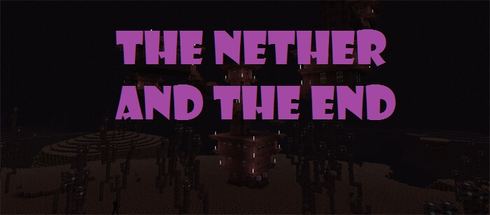 The Nether and the End Switched скриншот 1