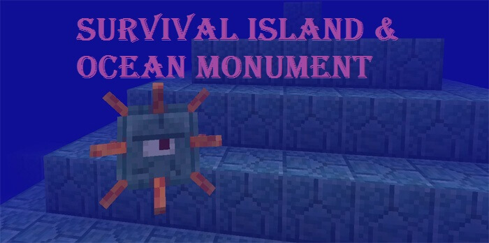 Survival Island & Ocean Monument скриншот 1