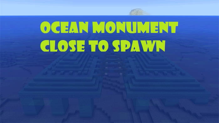 Ocean Monument Close to Spawn скриншот 1
