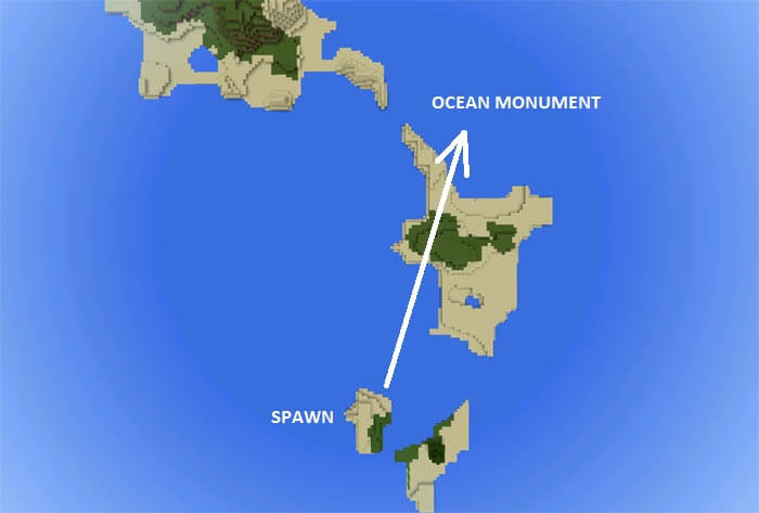 Ocean Monument Close to Spawn скриншот 2