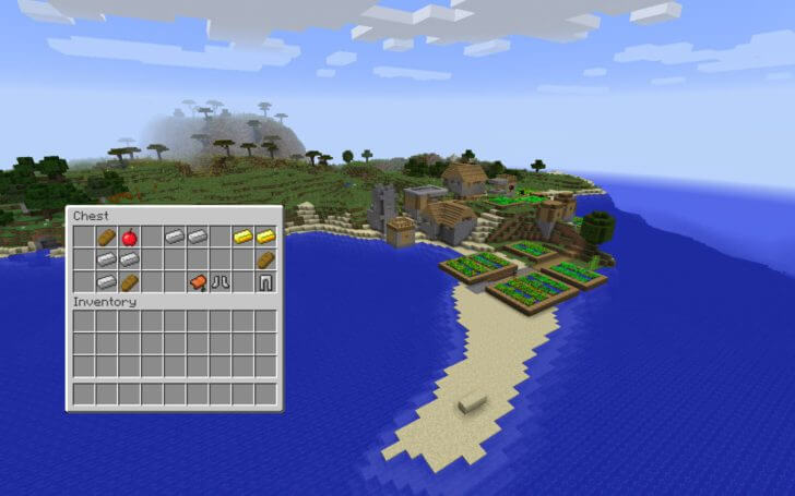 Village on the shore of the ocean screenshot 2