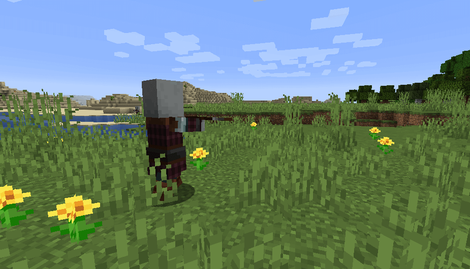 Pillager in Minecraft 1.14 screenshot 2