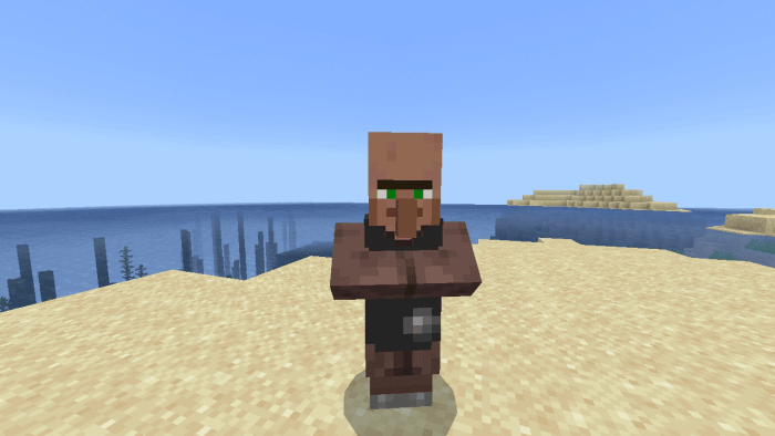 Pre Villagers for Minecraft Pocket Edition 1.14