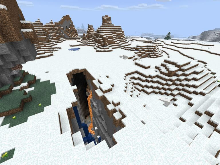 Snowy Villages and Ravines screenshot 1