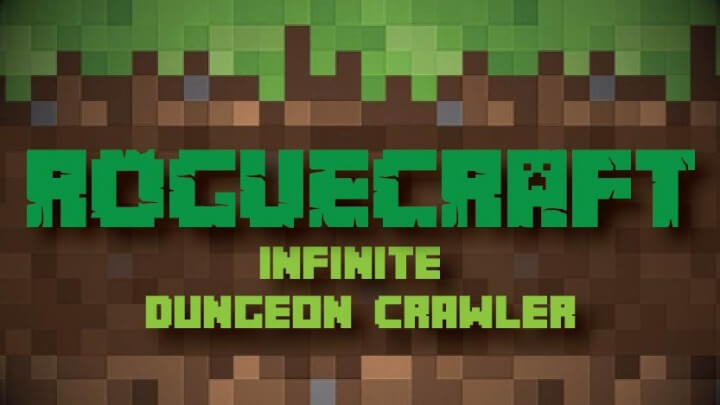 RogueCraft Infinite Dungeon Crawler скриншот 1