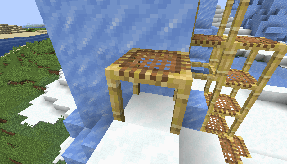 Scaffolding in Minecraft 1.14 screenshot 2