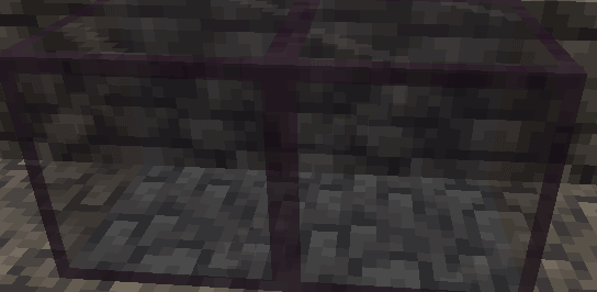 Tinted Glass in Minecraft 1.17