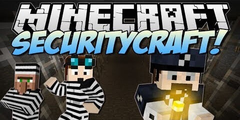 SecurityCraft 1.10.2 скриншот 1