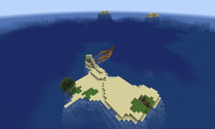 The wreckage of the ship near the Islands Screenshot 2