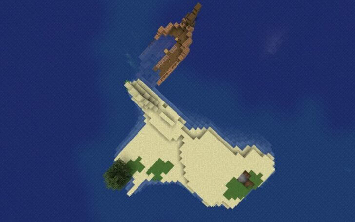 The wreckage of the ship near the Islands Screenshot 3