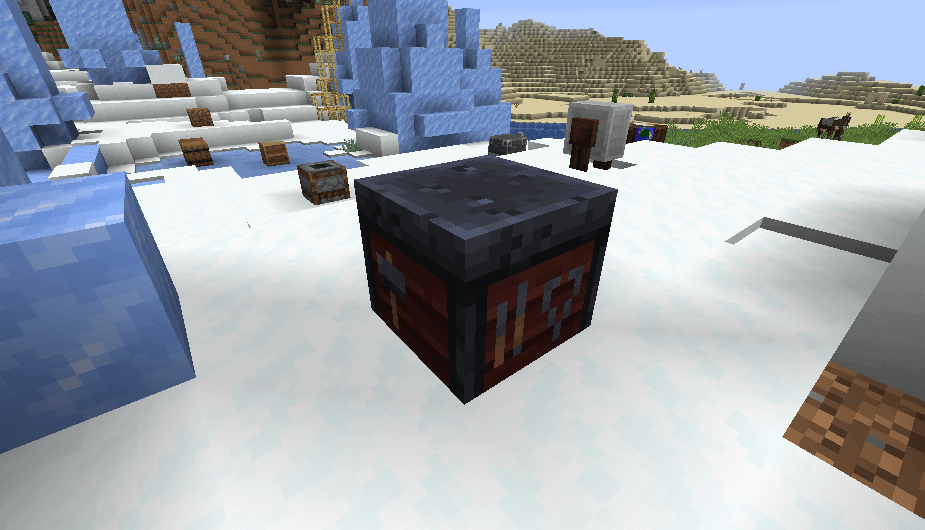 Smithing Table in Minecraft 1.14