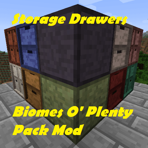 Storage Drawers: Biomes O' Plenty Pack-скриншот-1
