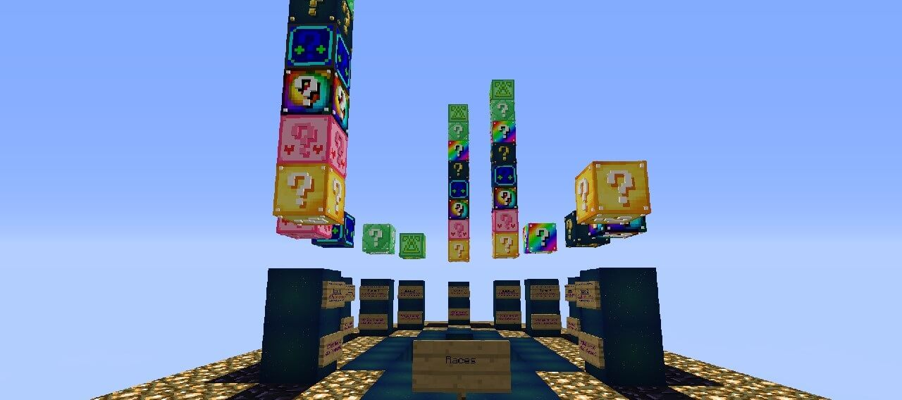 Tatapatt's Lucky Block Race скриншот 2
