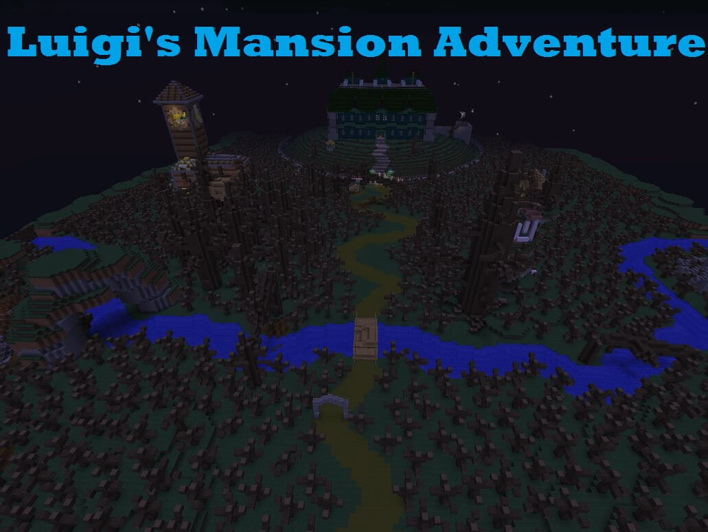 Luigi's Mansion Adventure скриншот 1