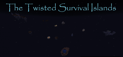 Карта The Twisted Survival Islands скриншот 1