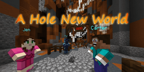 Карта A Hole New World скриншот 1