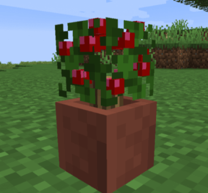 Potted Bushes 1.14.4 скриншот 2