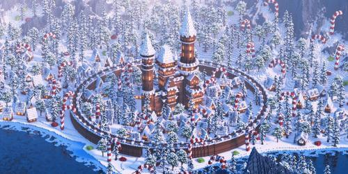 Карта Gingerbread Village скриншот 1