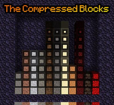 The Compressed Blocks 1.15.2 скриншот 2