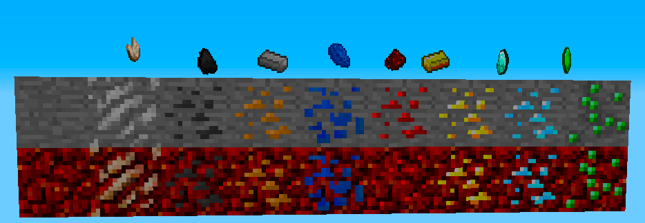 More New Nether Ores Plus 1.12.2 скриншот 2