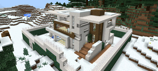 Modern Redstone Mansion screenshot 2