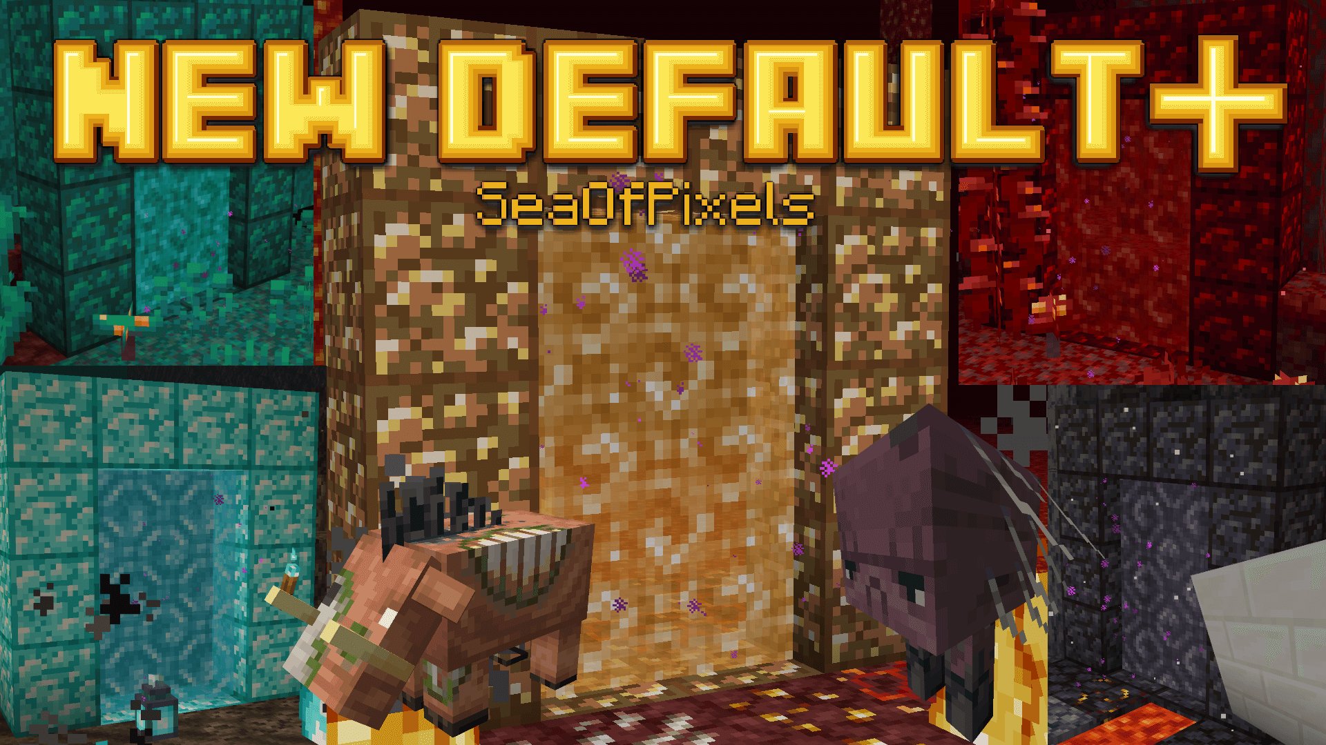 New Default+ for Minecraft 9.96