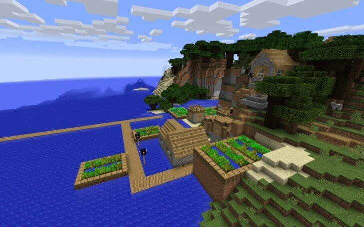 A village on the shore and an underwater fortress screenshot 2