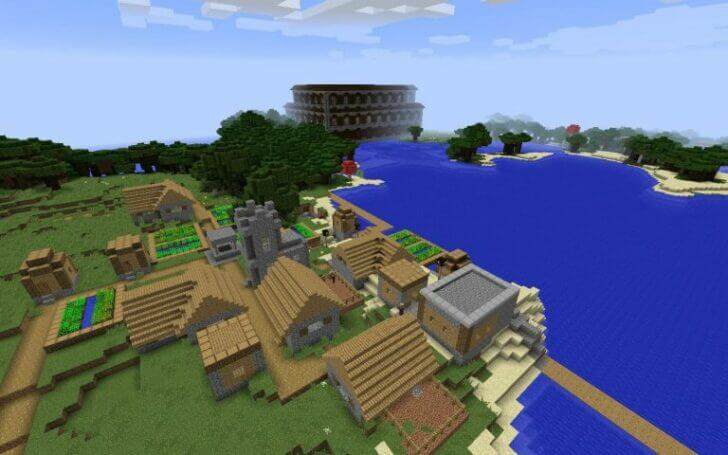 960570313 A Forest Mansion and a Village Nearby screenshot 1