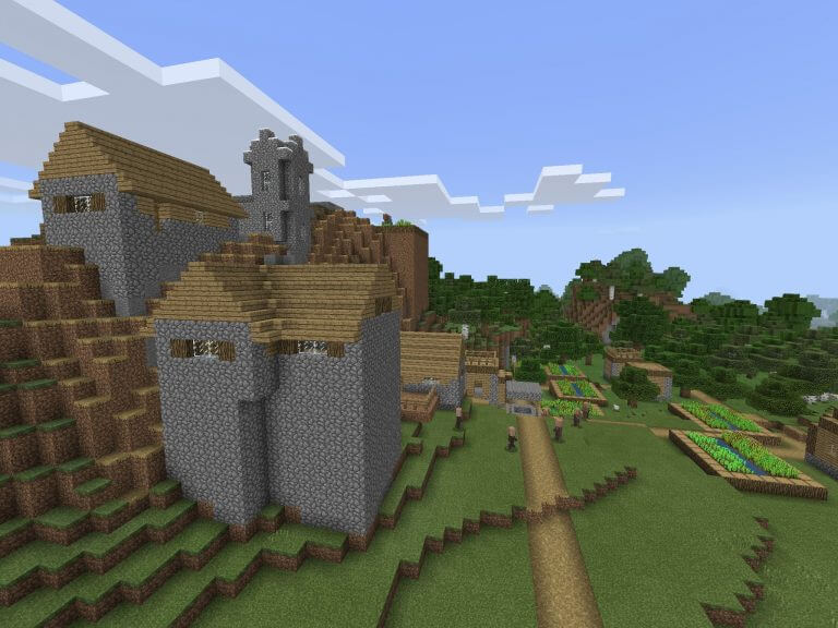Stronghold under Village by Spawn screenshot 1