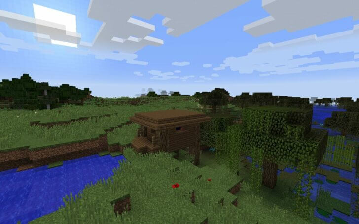 3536467 A Witch Hut Next to the Spawn screenshot 2