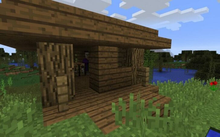 3536467 A Witch Hut Next to the Spawn screenshot 3