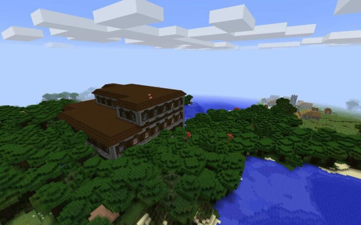 960570313 A Forest Mansion and a Village Nearby screenshot 3