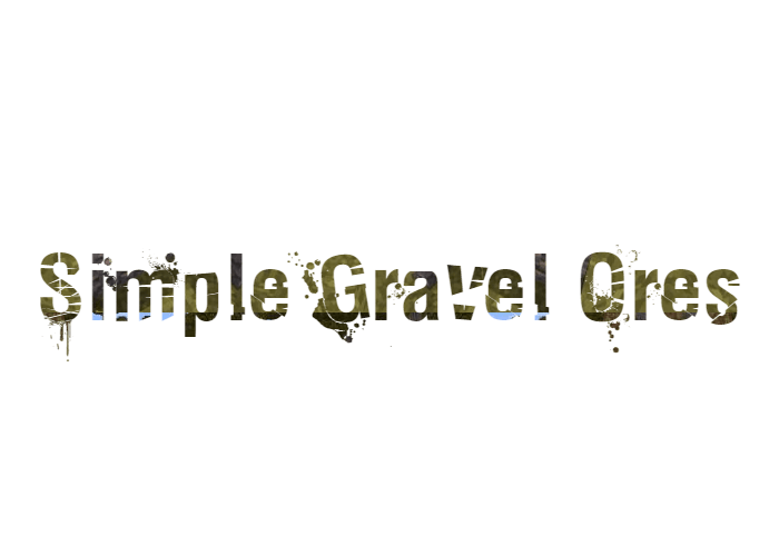 Simple Gravel Ores скриншот 1