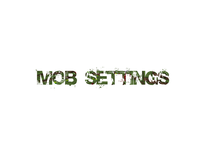 Mob Settings скриншот 1