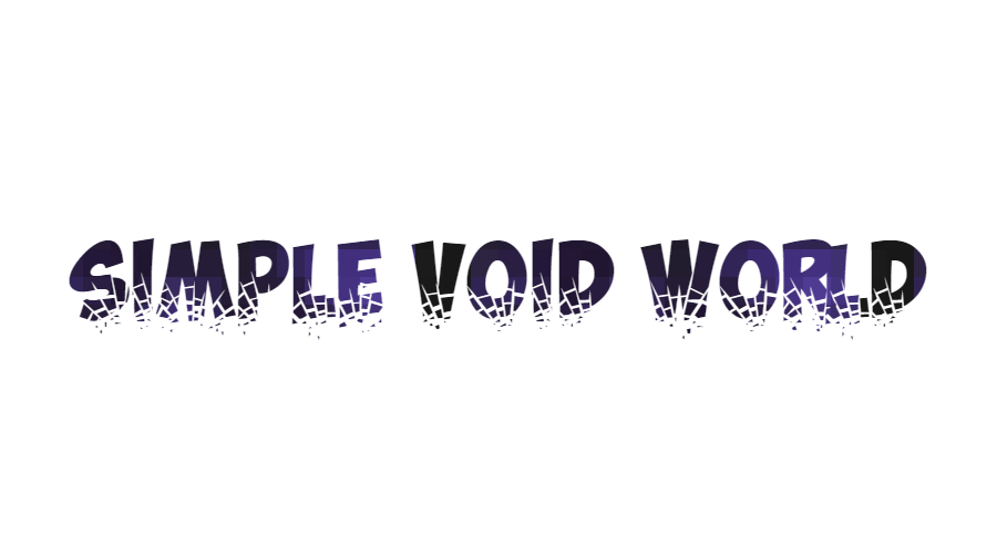 Simple Void World скриншот 1