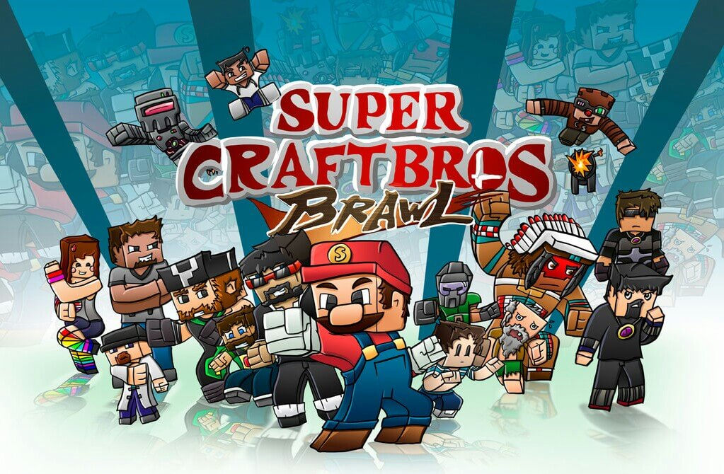 Super Craft Bros: Brawl скриншот 1