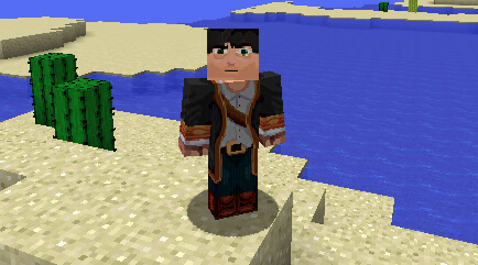 Example HD skins in Minecraft