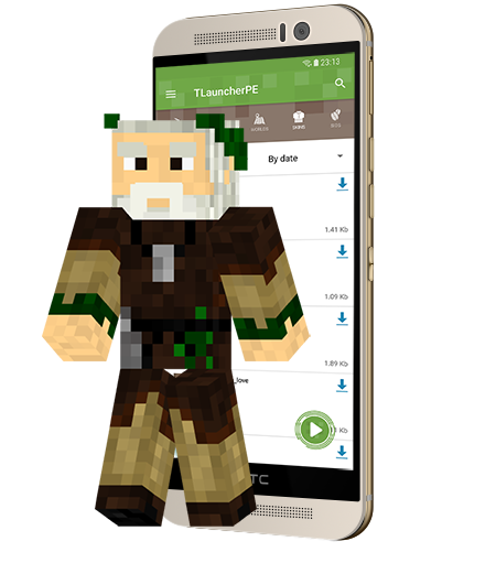 Download Minecraft TLauncher PE
